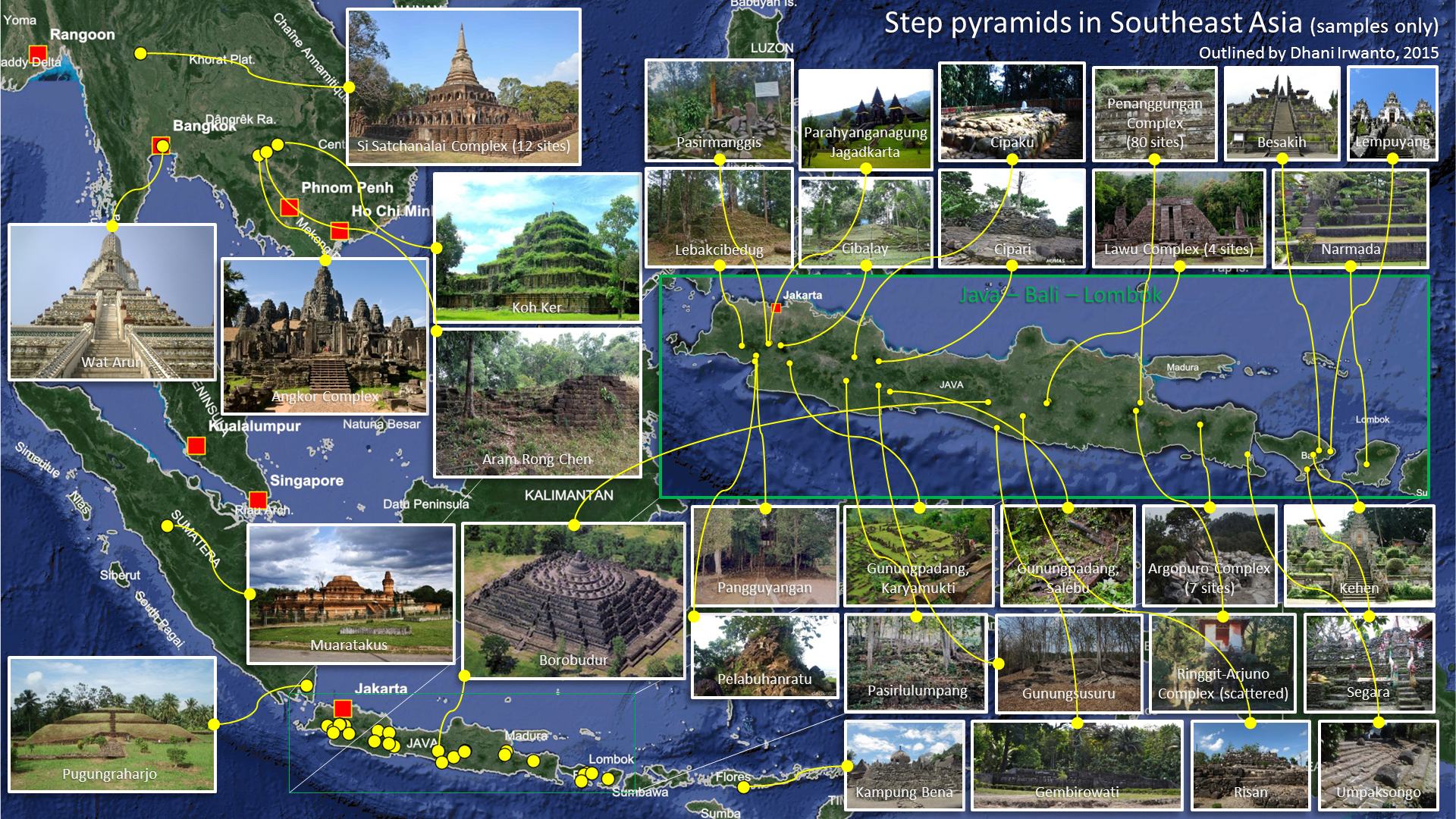 Step Pyramids in Southeast Asia