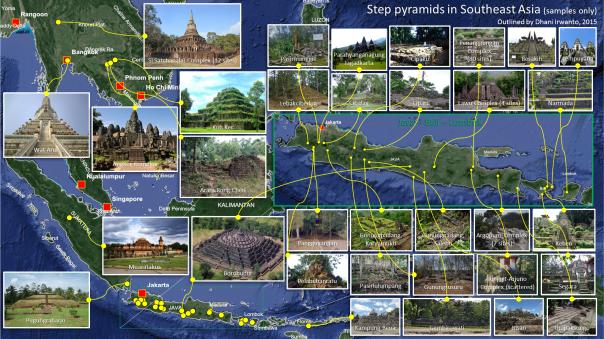 Step Pyramids in Southeast Asia