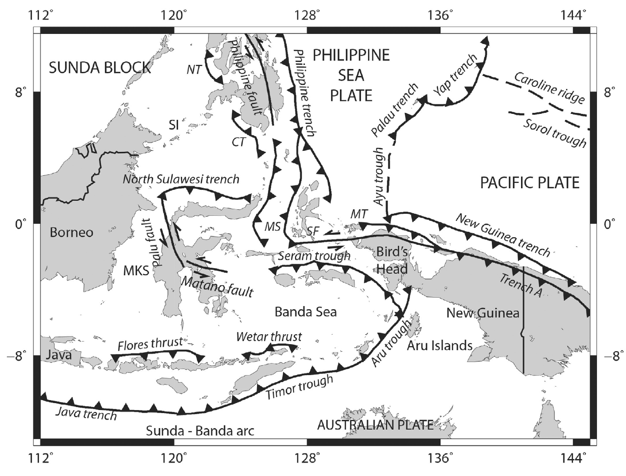 Atlantis in Java Sea: Earthquakes and Tsunamis