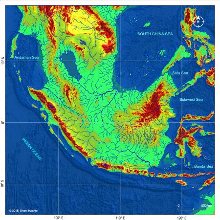 Sundaland - Last Glacial Maximum_75%