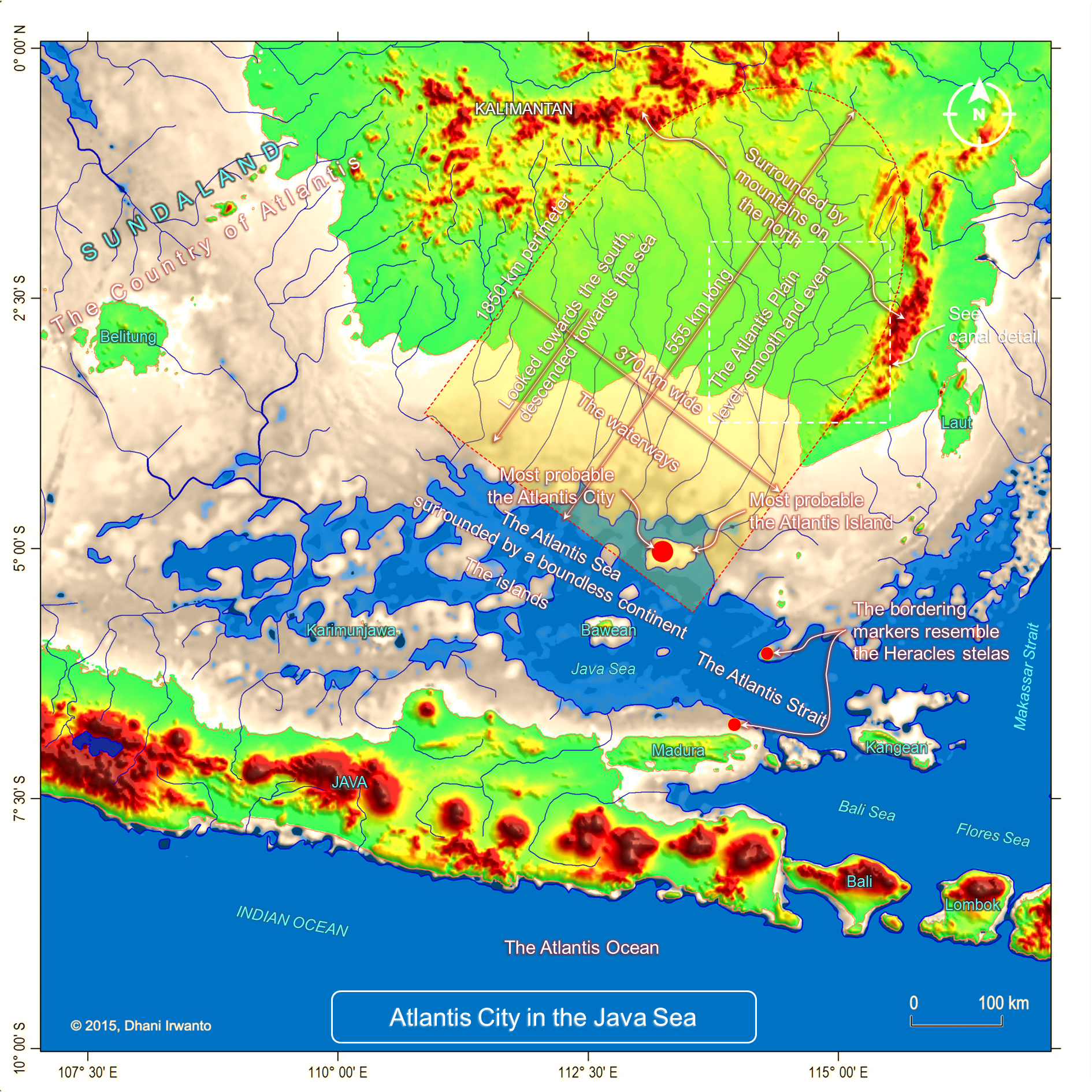 Sea level rise atlantis in the java sea publicscrutiny Images