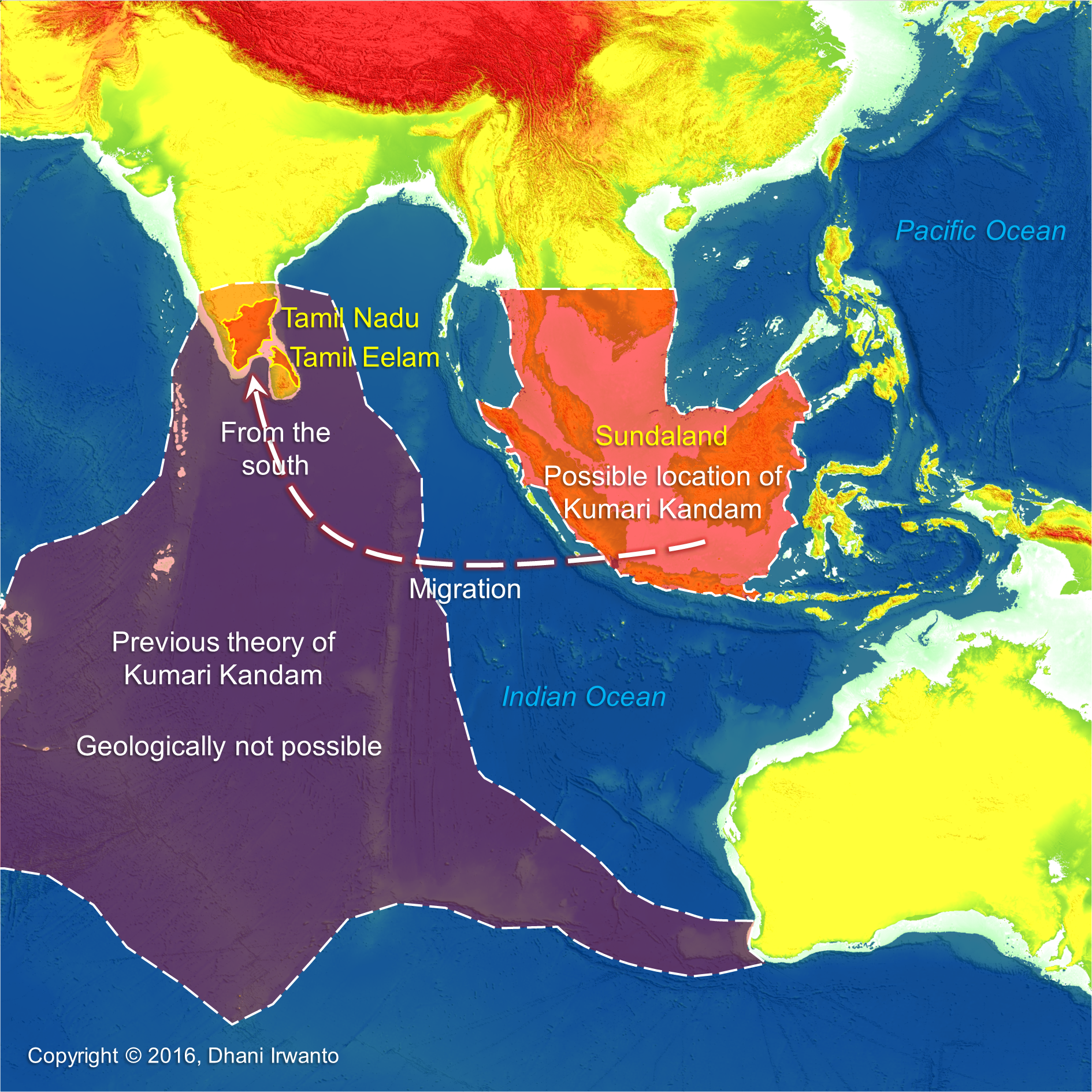 Sunken Continent Atlantis In The Java Sea