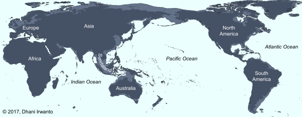 LGM Ocean Map