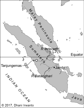 Location of Tanjungemas