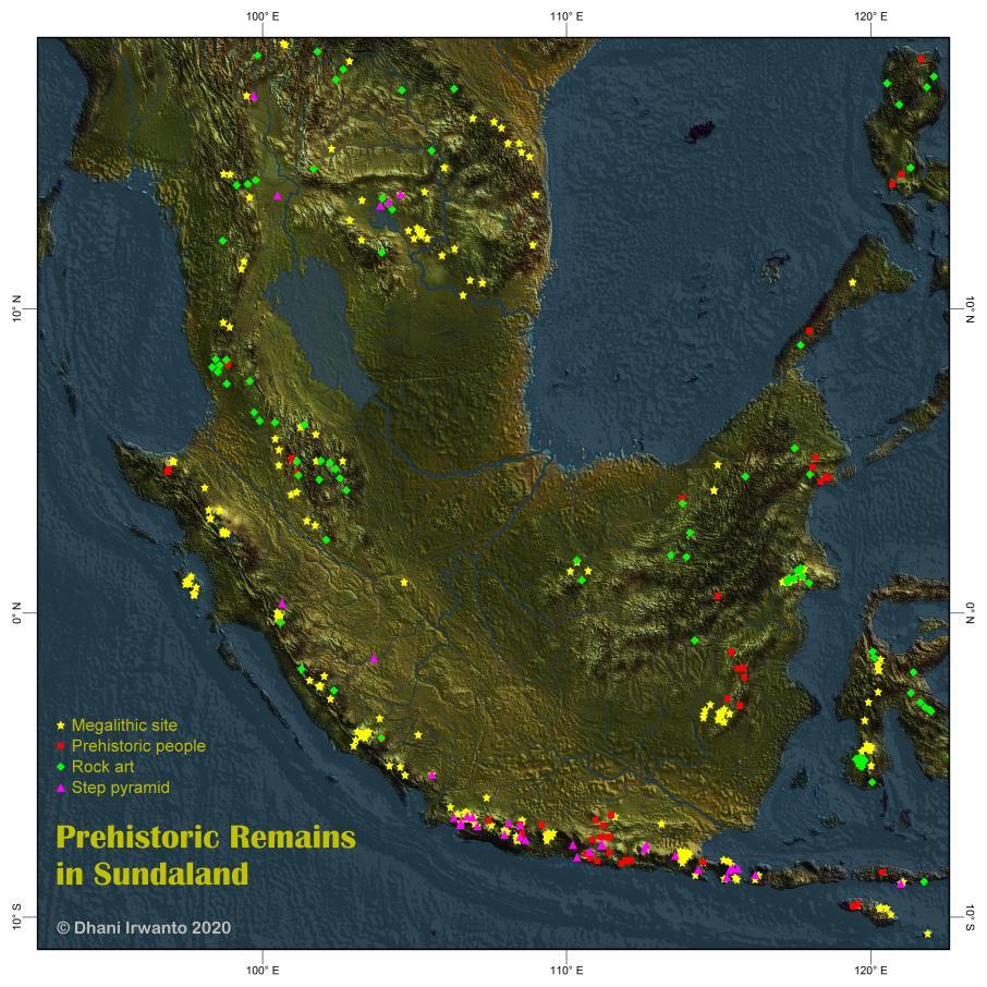 Sundaland - peninggalan prasejarah
